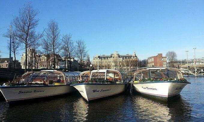 Boote in der Gracht